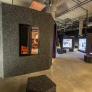 Seinamoodulite, lava, mööbli ja transpordikastide tootmine ja paigaldus.
